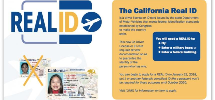 What You Need To Know About The New CA Real ID