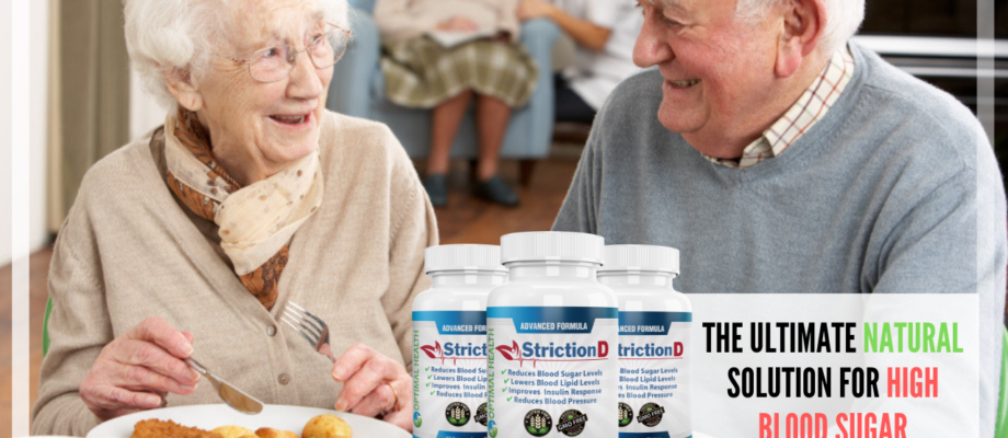 StrictionD: The Ultimate Natural Solution for High Blood Sugar