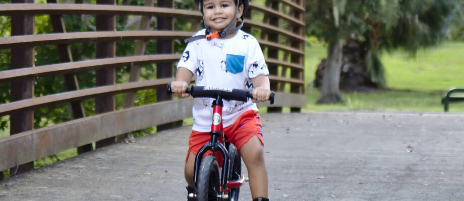 How to Get Toddlers into Cycling